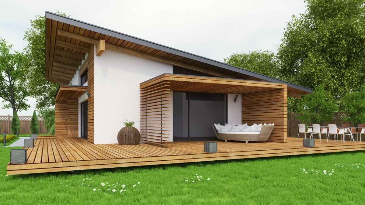 Plan maison contemporaine bc 7 140m2 for Piscine ossature bois pas cher