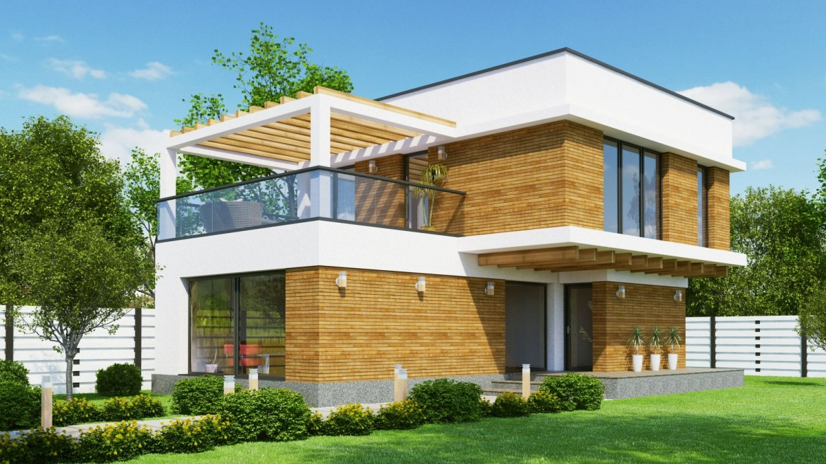 Plan maison contemporaine bc 8 132m2 for Villa contemporaine plan