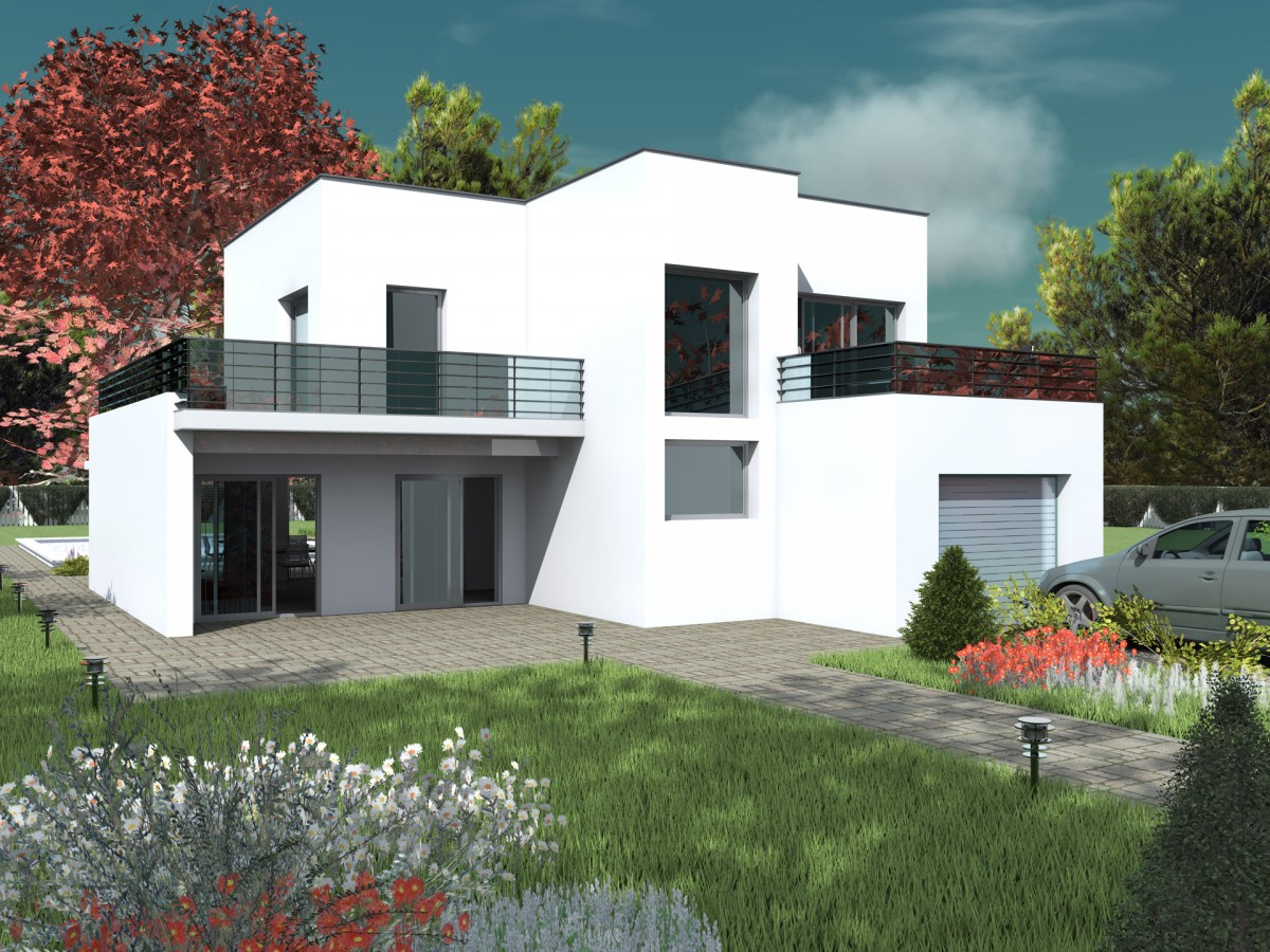 Maison contemporaine bc 10 190m2