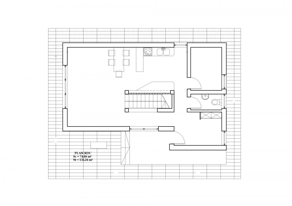 Plan maison contemporaine bc 8 132m2 for Plans de maisons contemporaines