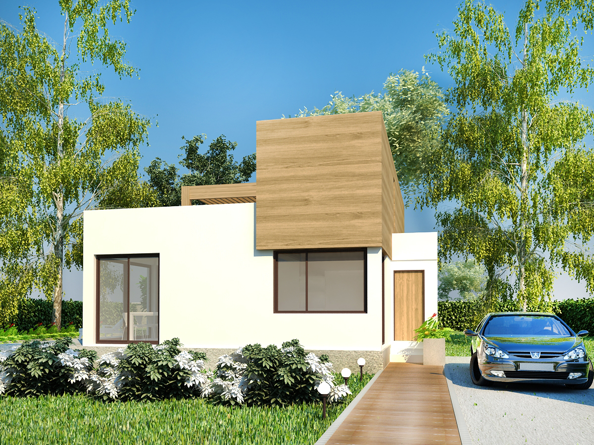 Plan maison contemporaine b 1 173m2 for Plans maisons contemporaines