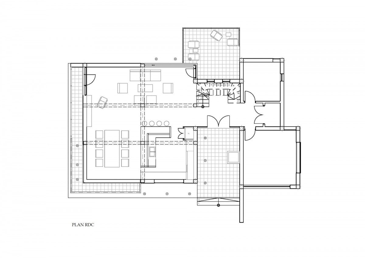 Plan maison de luxe cj 7 260m2 for Plans de maison de luxe