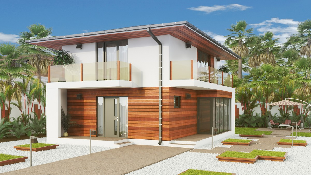 ... Classical House BC 16 110m2 ...